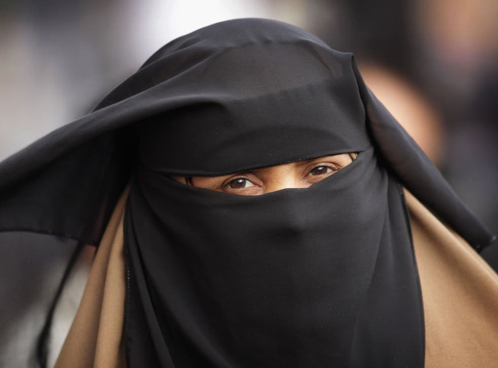 The niqab, which leaves a gap for the eyes, will be banned along with the burqa, in which wearers see through a mesh screen