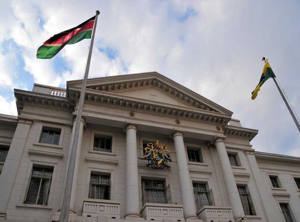The City Hall in Nairobi, Kenya