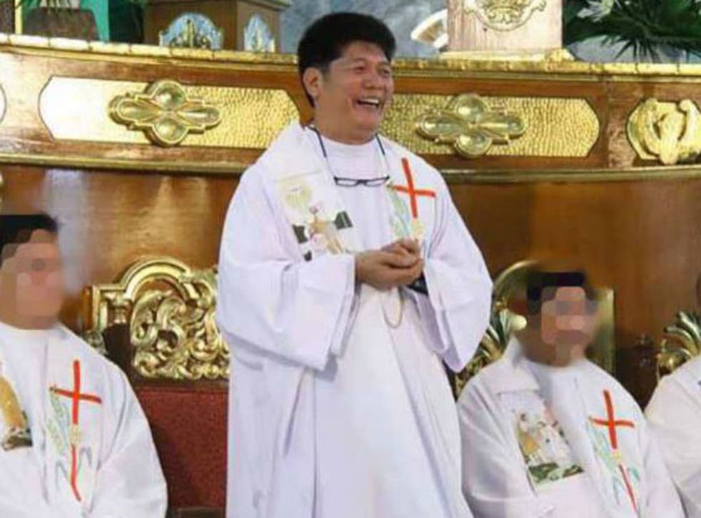 The priest has been removed of his duties during the investigation