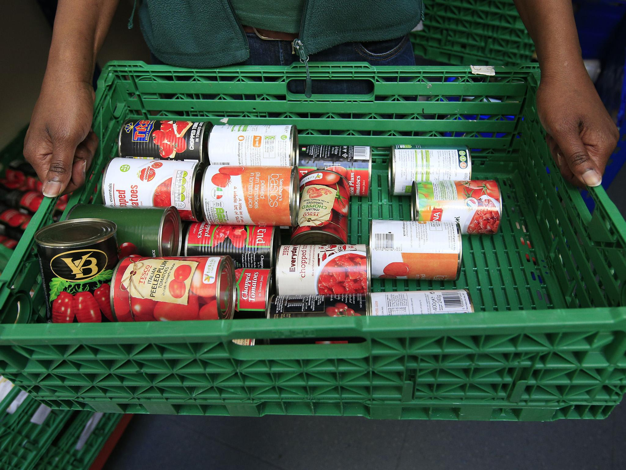 Nearly 4 Million Uk Adults Forced To Use Food Banks Figures