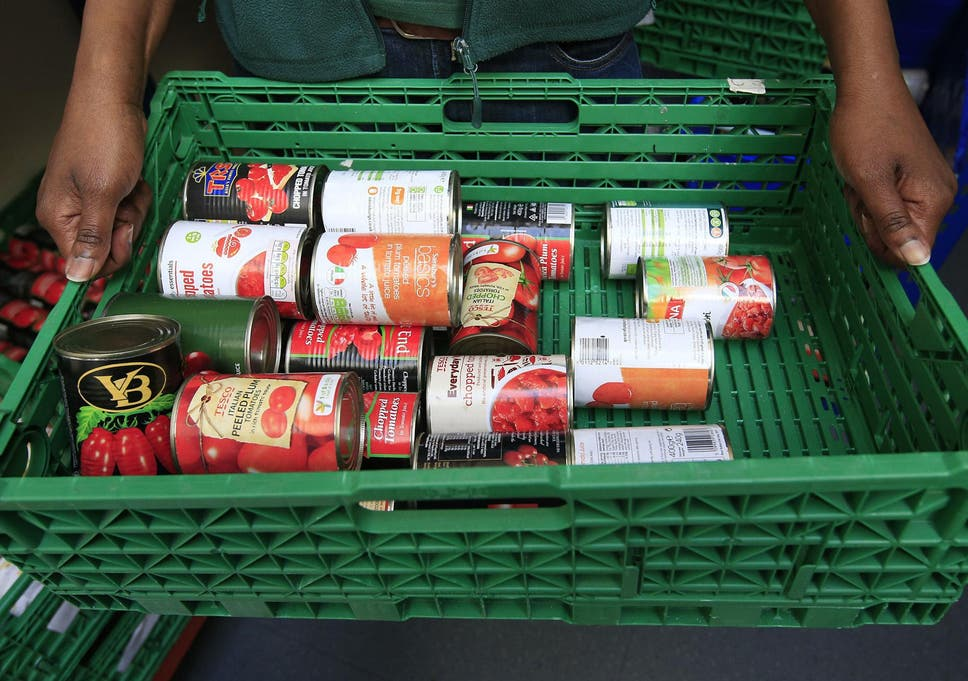 Food Bank Demand Surges In Areas Where People Have Received