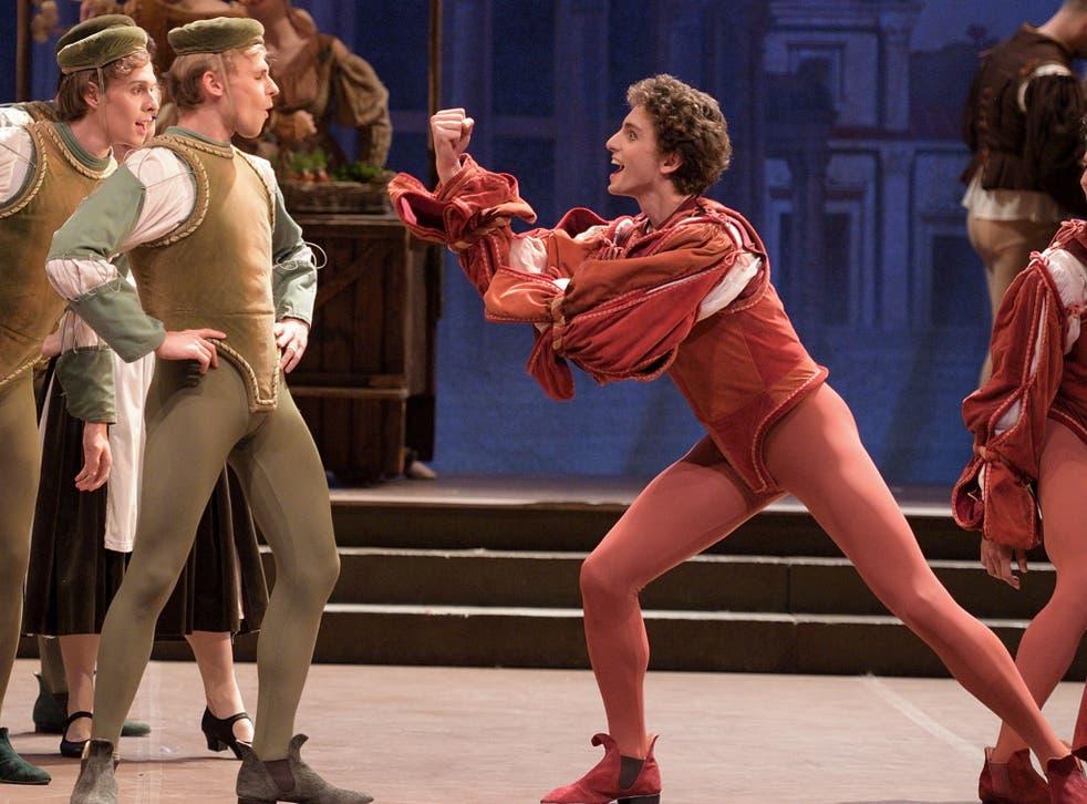 English National Ballet dances in Romeo & Juliet