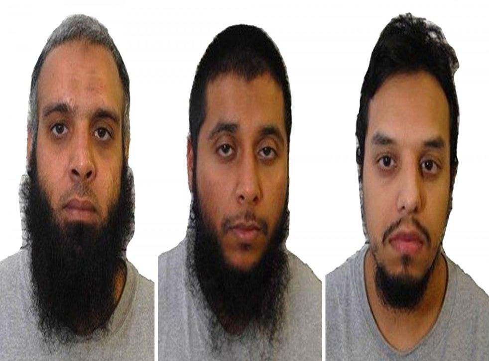 Terror plotters Naweed Ali, Khobaib Hussain and Mohibur Rahman, who were jailed in 2017, met in HMP Belmarsh