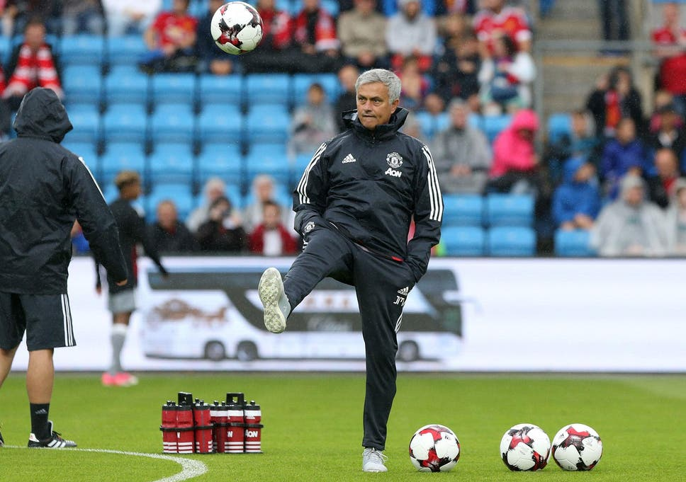 1c92c479f52 Jose Mourinho is looking to end his pre-season on a high note