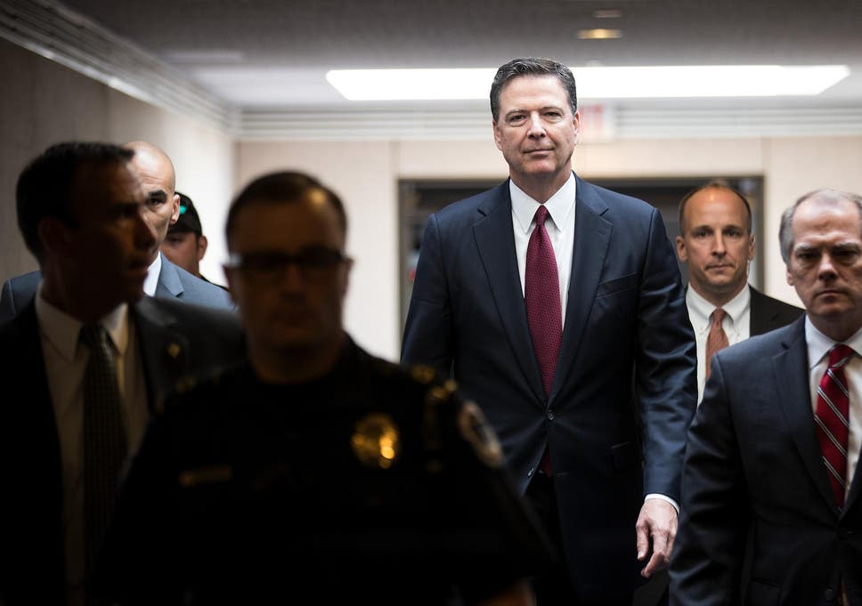 Ousted fbi director james comey to teach course on ethical former fbi director james comey leaves a closed session with the senate intelligence committee on june m4hsunfo