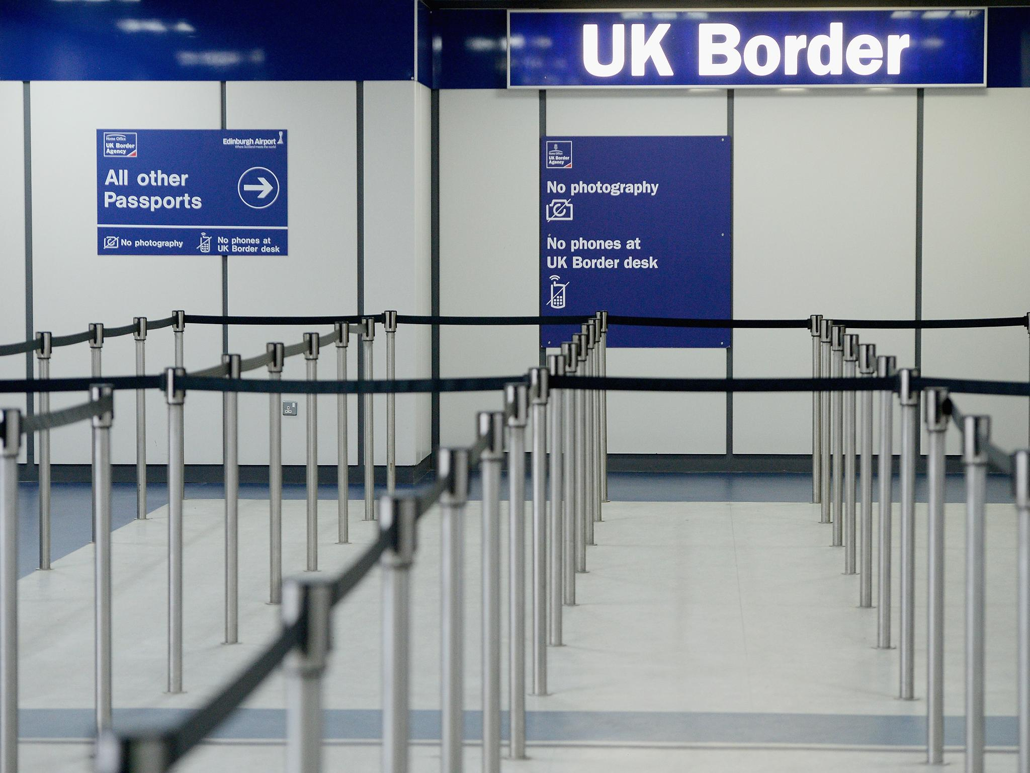 Home Office decision to scrap all international landing cards will 'weaken our borders', says union