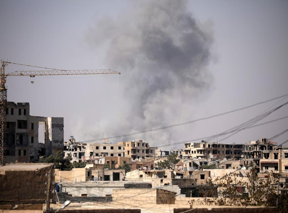 Raqqa, in Syria: People returning could be forced to join the Prevent counter-terror programme
