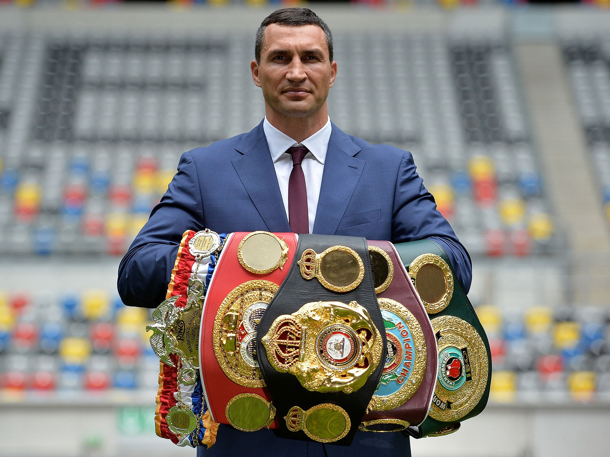 Wladimir Klitschko retires from boxing to end Anthony ...