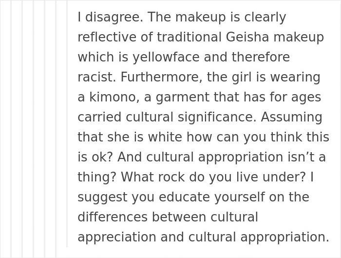 Someone Called This Girls Japanese Tea Party Racist And Then A