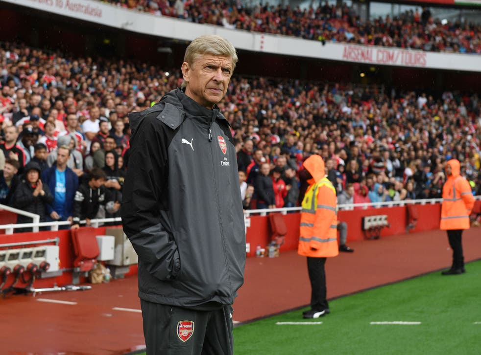 The Arsenal manager refused to address the controversy surrounding Arsenal's owner