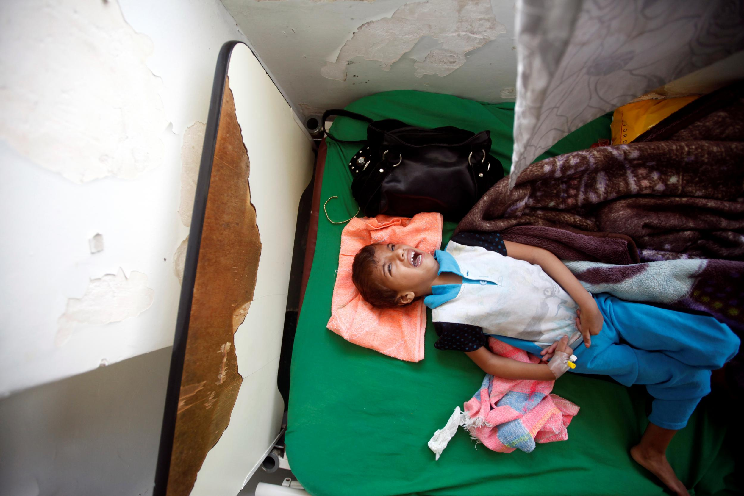 More people are dying in Yemen from a Saudi-led airport blockade than from actual air strikes, NGOs say
