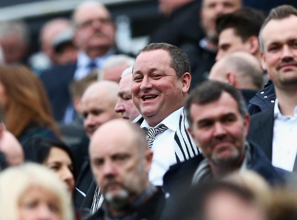 Mike Ashley gave an interview where he admitted Newcastle couldn't compete for transfers(Getty Images)