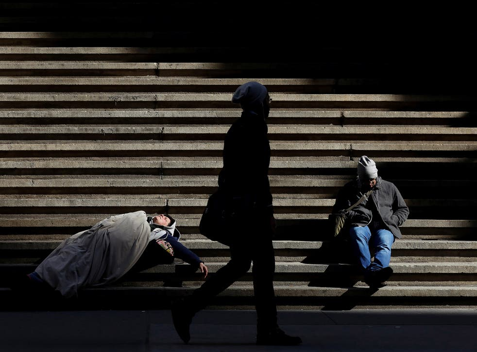 Some 159,000 households are sleeping rough or living in unsuitable temporary accommodation and experiencing other forms of acute homelessness, according to a new study