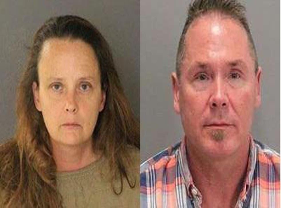 Pair arrested after plane landed