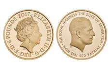 Prince Philip's retirement from royal duties marked by £5 coin
