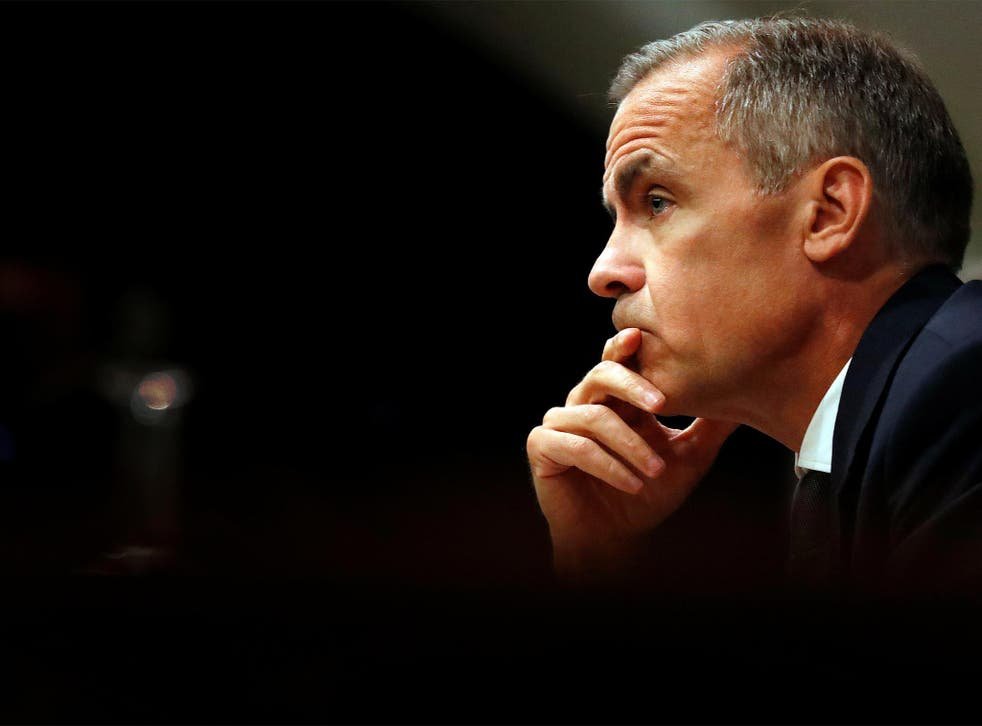 Mr Carney argues that division in society caused by capitalism should concern the Government – not the Bank of England