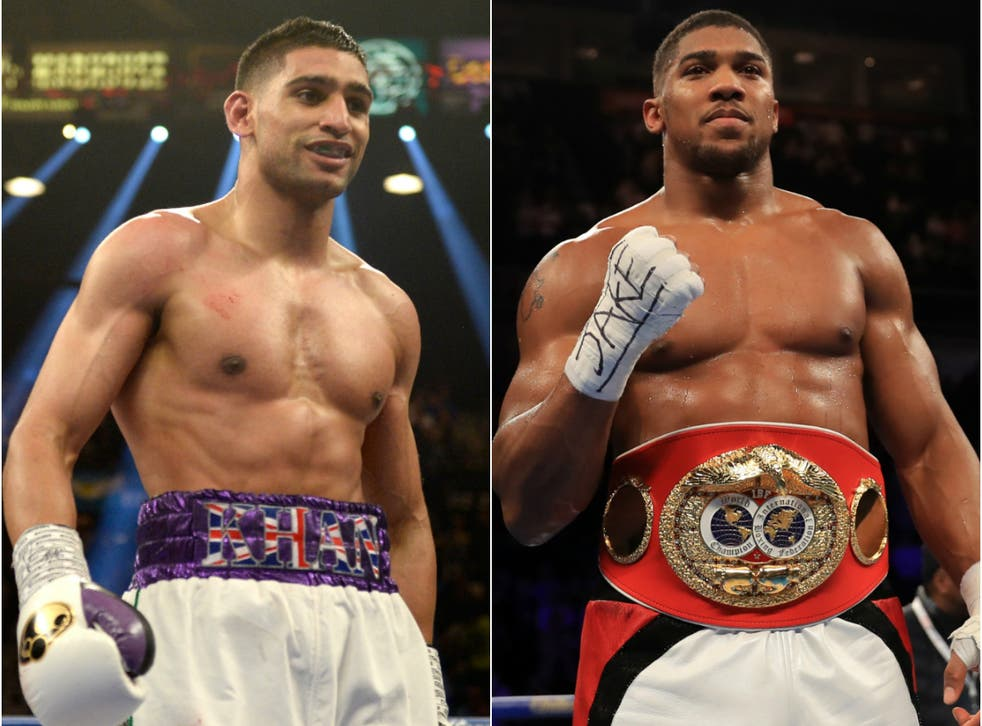 Amir Khan has accused Anthony Joshua of having a relationship with his wife following their split