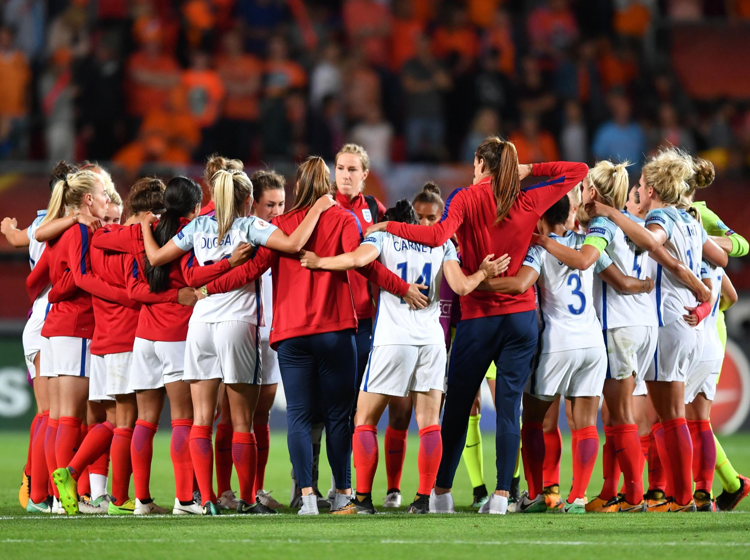 Uncertainty surrounds Mark Sampson's future as England ponder how they go from contenders to winners