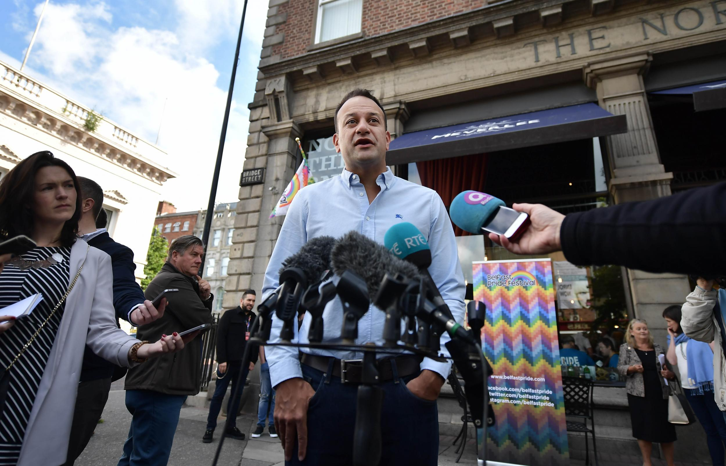 Same-sex marriage in Northern Ireland is 'only matter of time', says Irish PM Leo Varadkar | The Independent