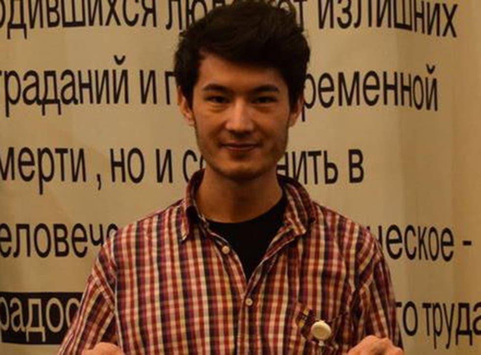 Ali Feruz is an openly gay journalist which places him at great risk if forced back to Uzbekistan © Ivan Kondratenko