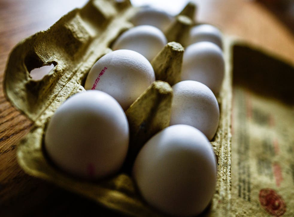 Eggs may have been contaminated with an insecticide believed to cause organ damage