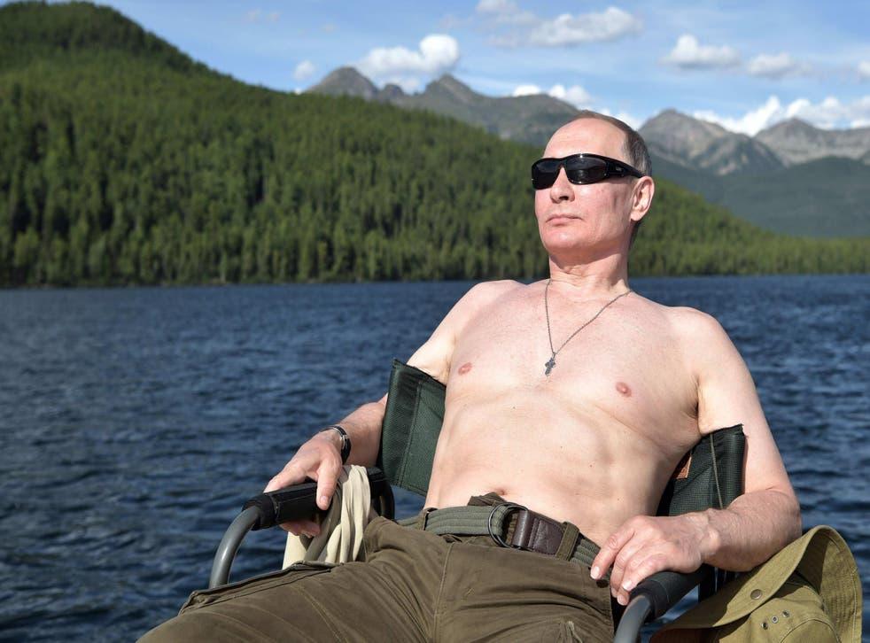 <p>Vladimir Putin </p>