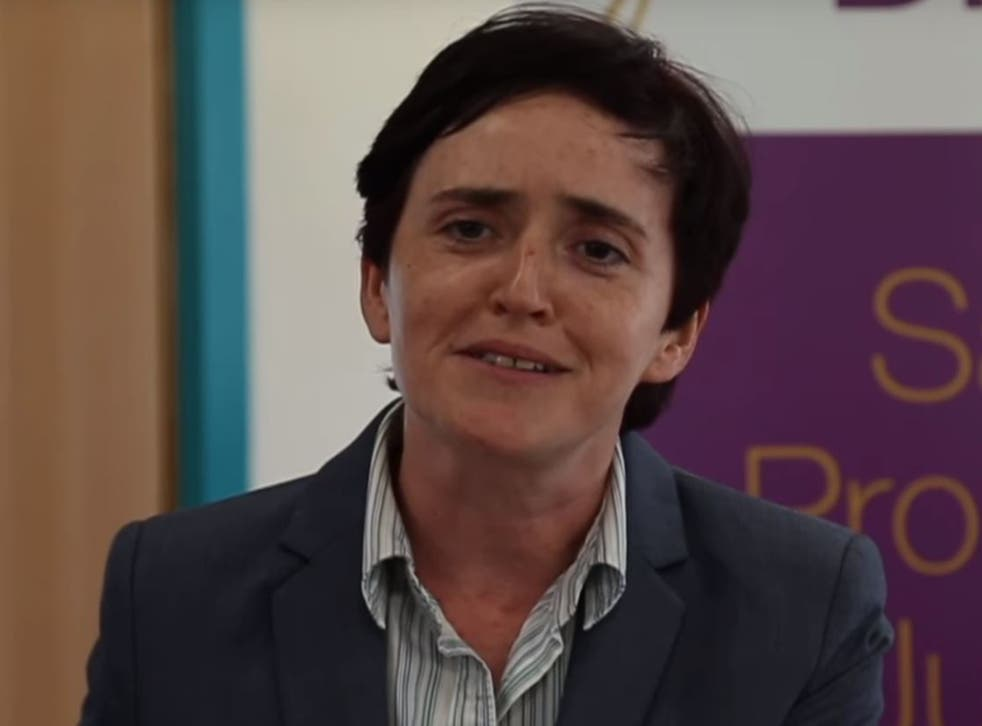 Anne Marie Waters was banned from being a candidate for the Eurosceptic party during their disastrous general election campaign.