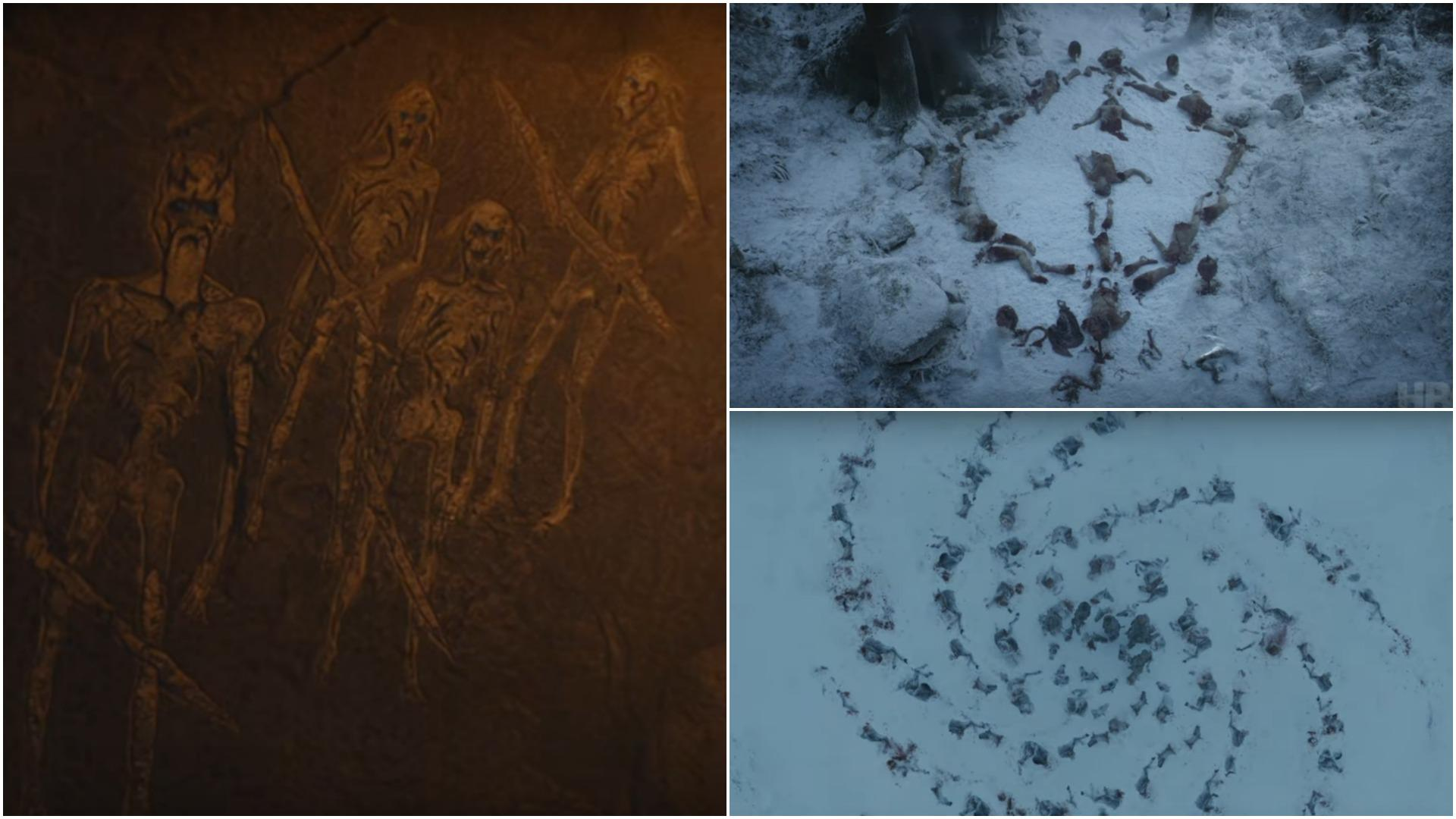 White Walkers Cave Painting