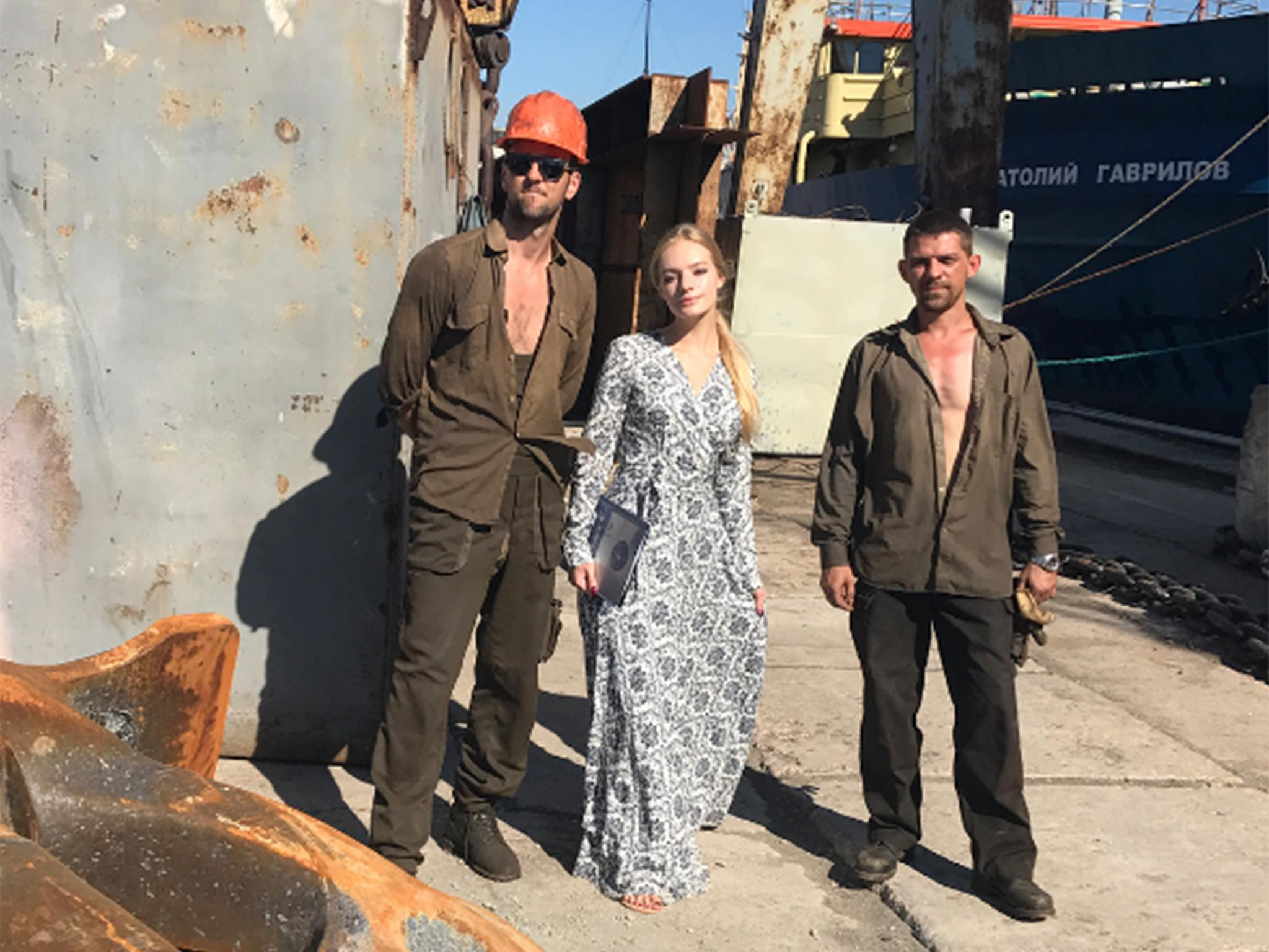 Daughter Of Vladimir Putin Ally Mocked After Visiting Crimean Shipyard To Promote Patriotic Business The Independent The Independent