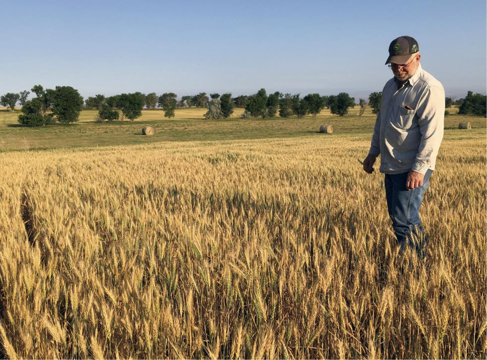 Farmers are concerned about losing crops because of a record drought