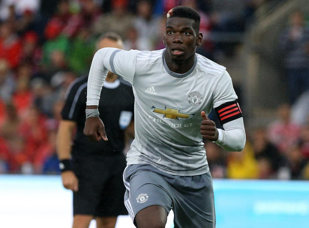 Pogba will be playing in a more advanced position this season