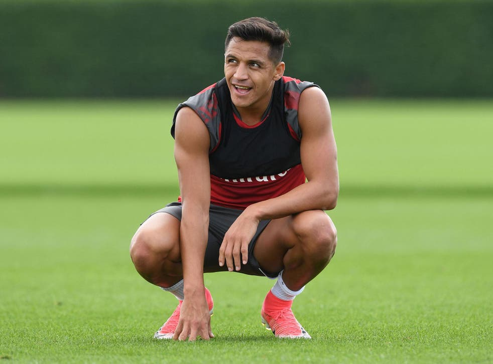 Alexis Sanchez returned to Arsenal last week but remains keen to leave the club