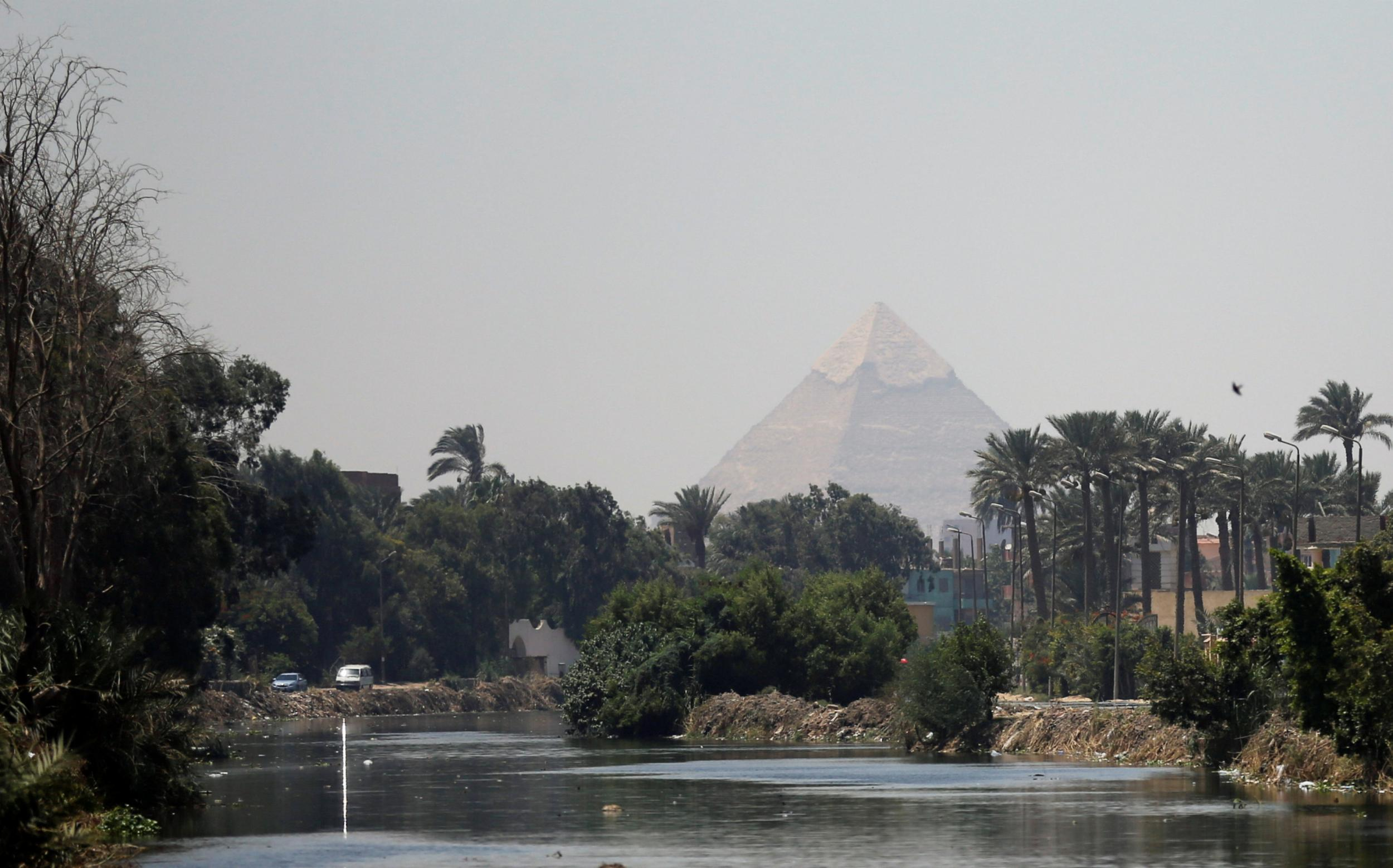 Great Pyramid of Giza - latest news, breaking stories and