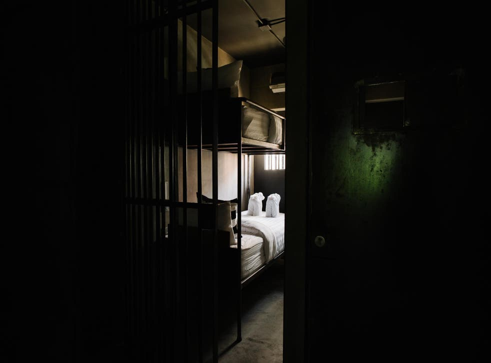The new Bangkok hostel has a prison theme