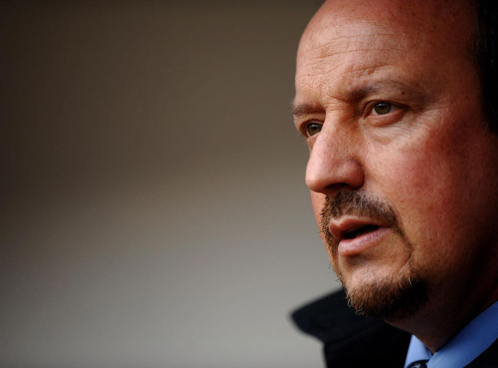 Rafa Benitez could be absent when Newcastle face Swansea this weekend