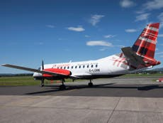 Loganair to take over 16 of Flybe's routes