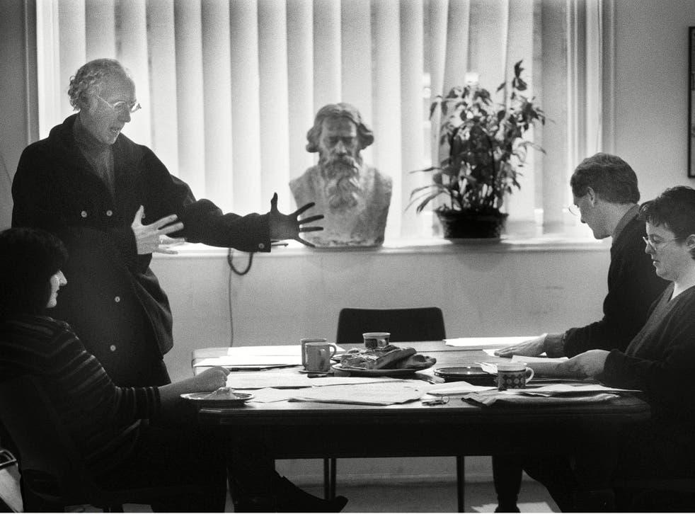 Society of poets: Roger McGough, Andrew Motion (left), Moniza Alvi and Carol Anne Duffy (left)