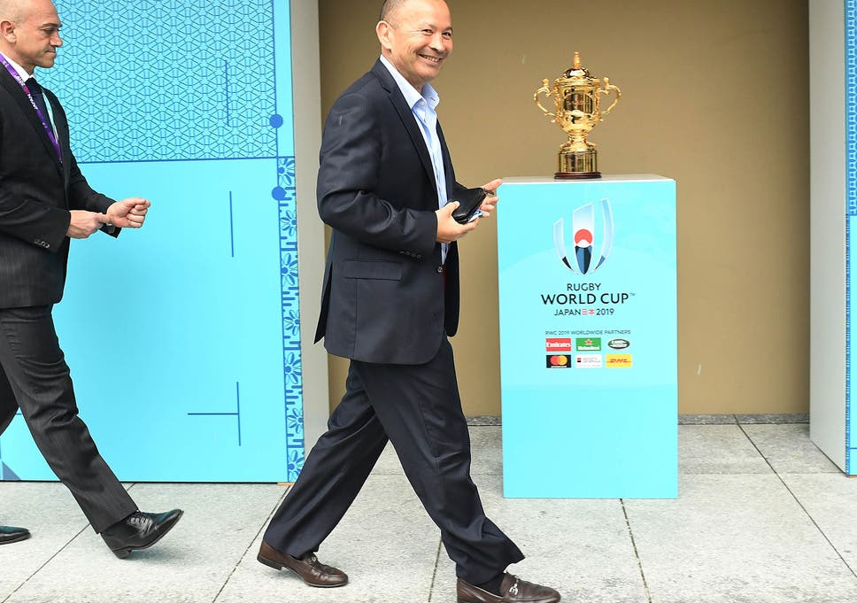 2fb47b9273b Eddie Jones has travelled to Japan to scout potential training bases and  hotels for England s World