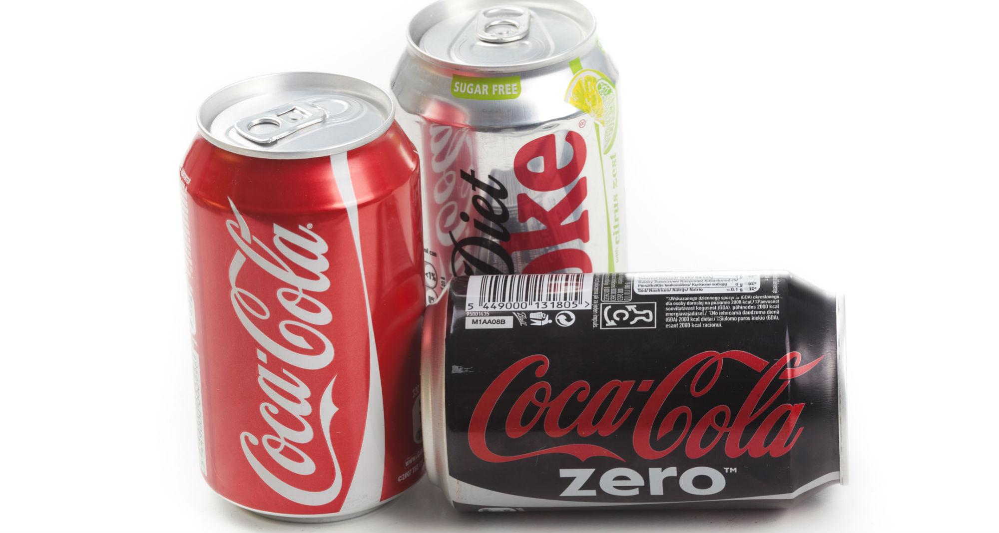 Difference between Coke Zero and Diet Coke?