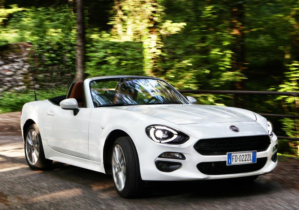 Review Fiat 124 Spider 1 4 Classica The Independent