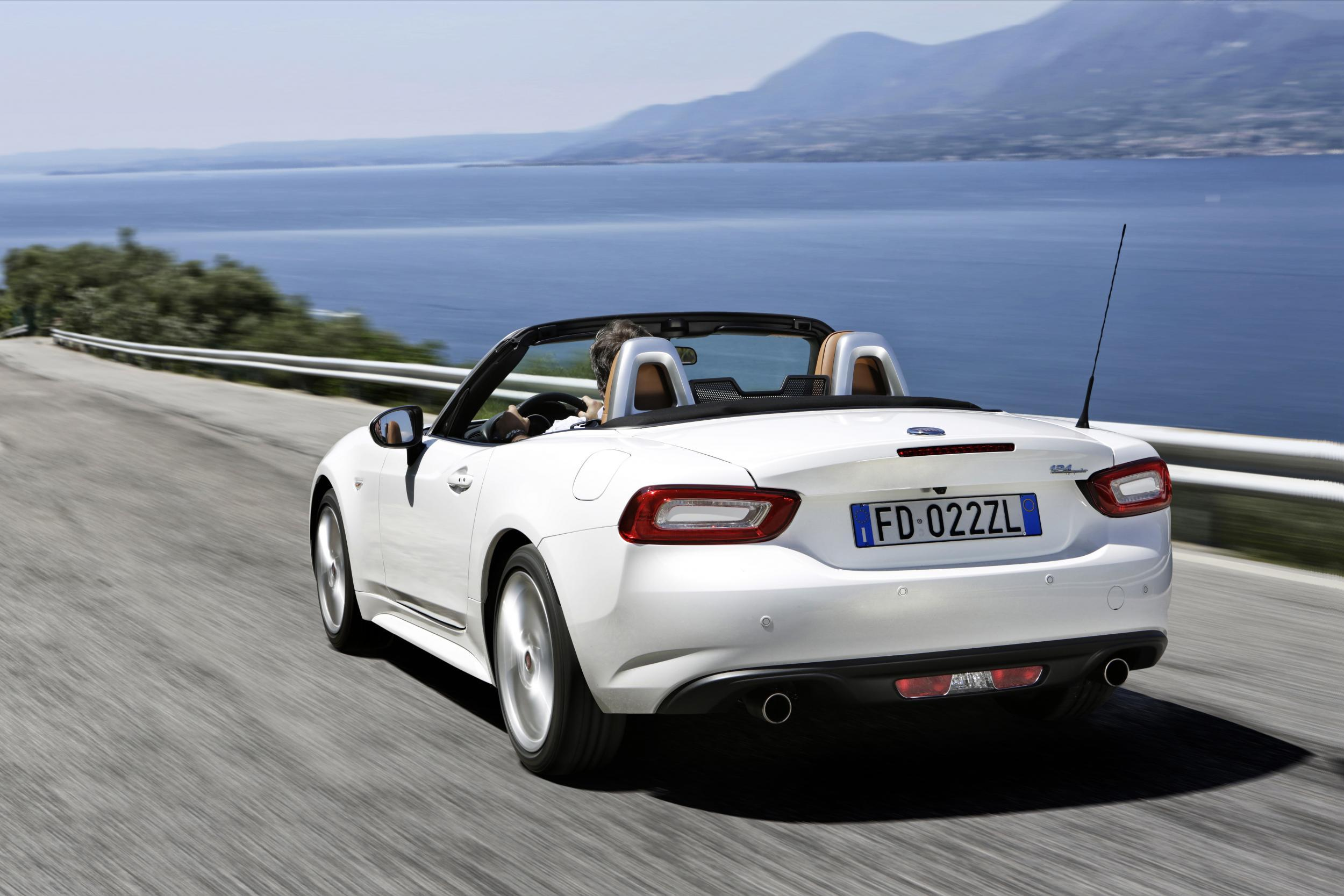 Review Fiat 124 Spider 14 Classica The Independent 1970 Convertible East