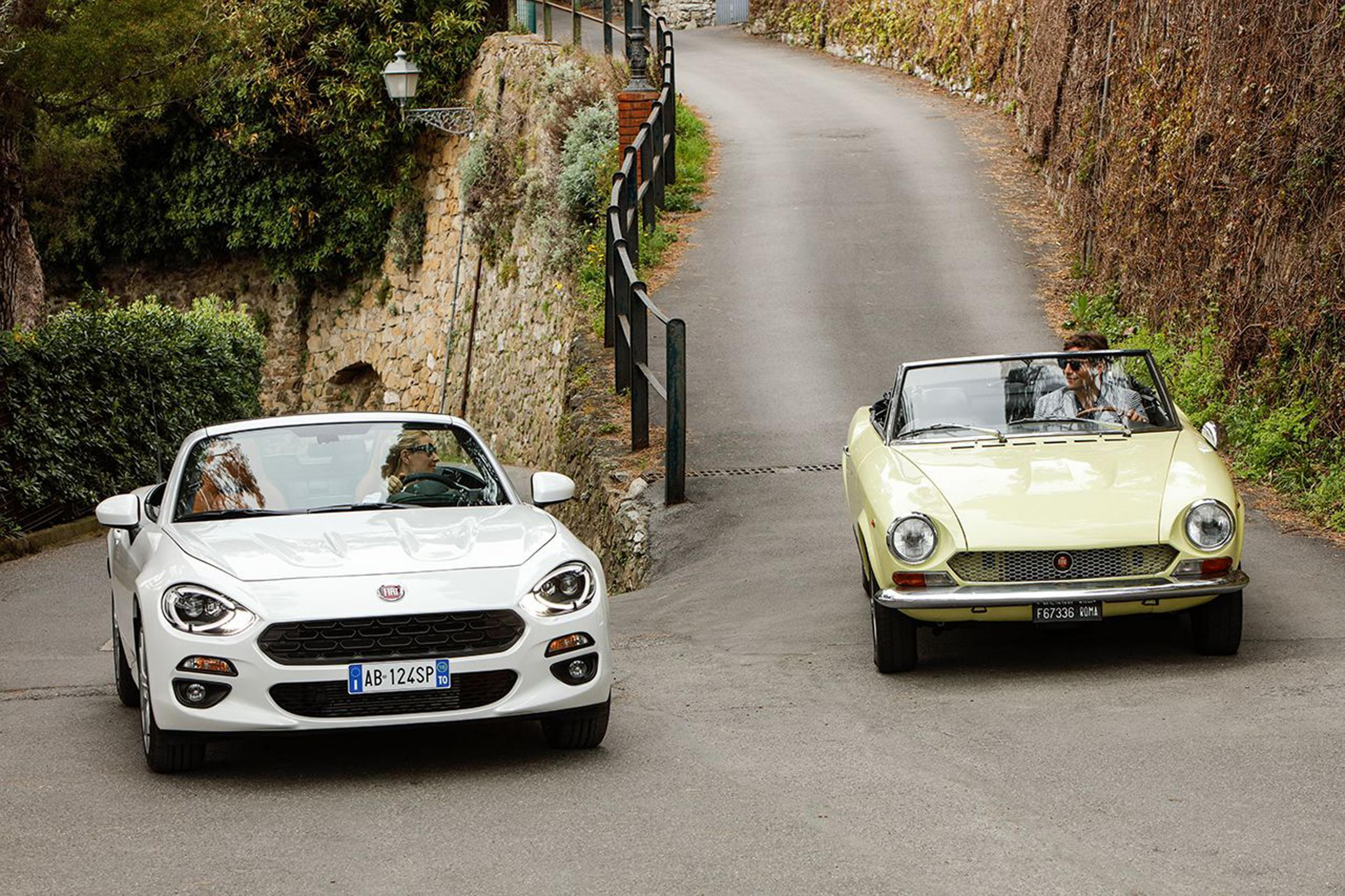 Review Fiat 124 Spider 14 Classica The Independent 1971 Sport Imitation
