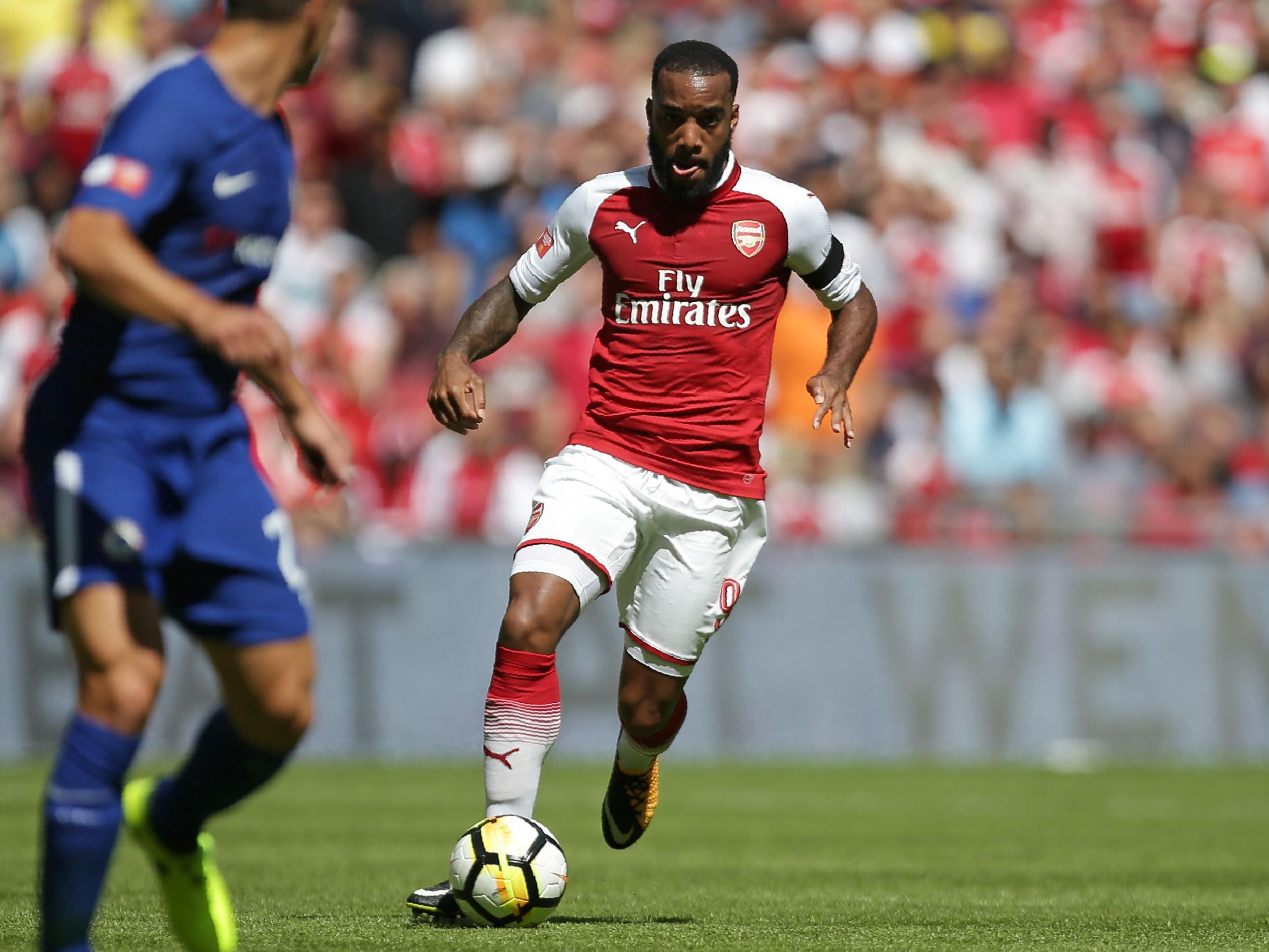 Arsene Wenger challenges Arsenal new boy Alexandre Lacazette to