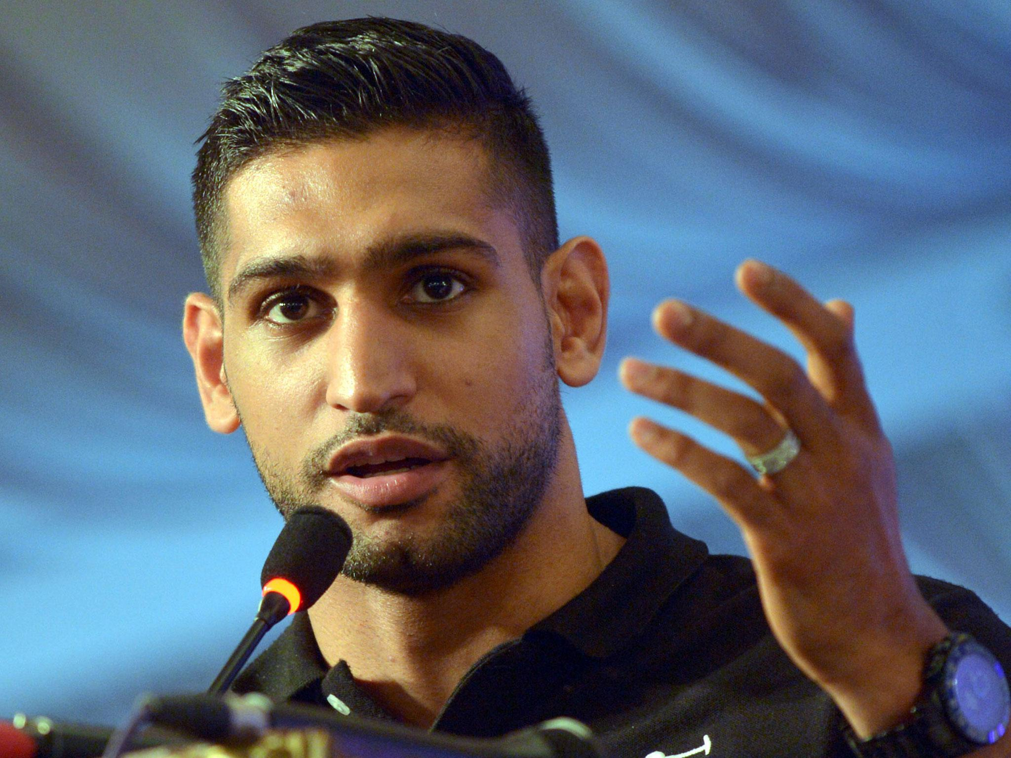 amir khan reveals anthony joshua rang him after he accused