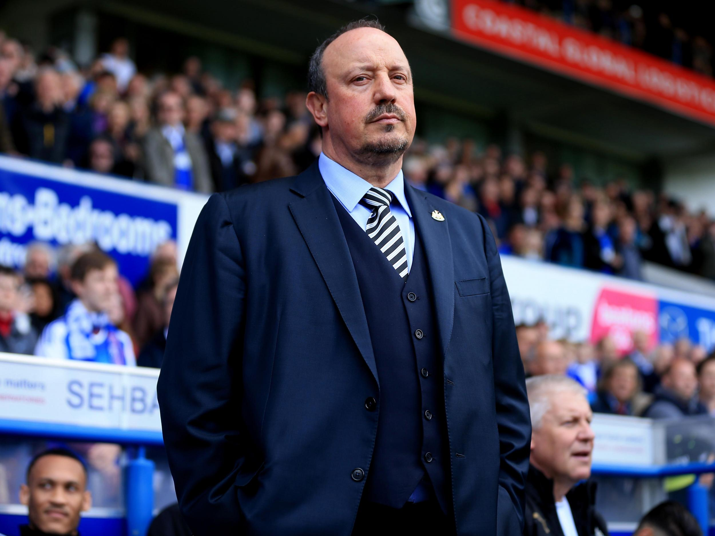 newcastle face tottenham on sunday but rafa benitez s biggest opponent continues to be mike ashley the independent