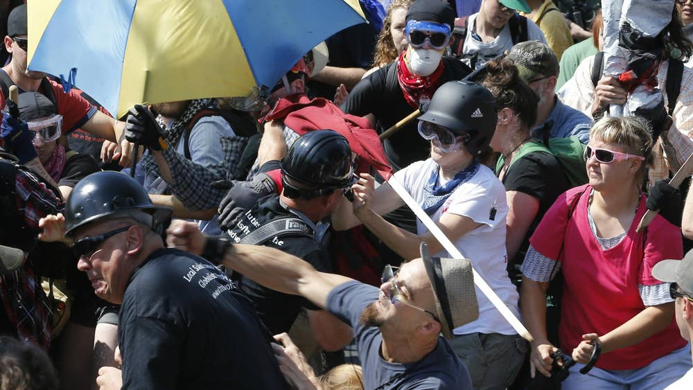 Protesters clash and several are injured
