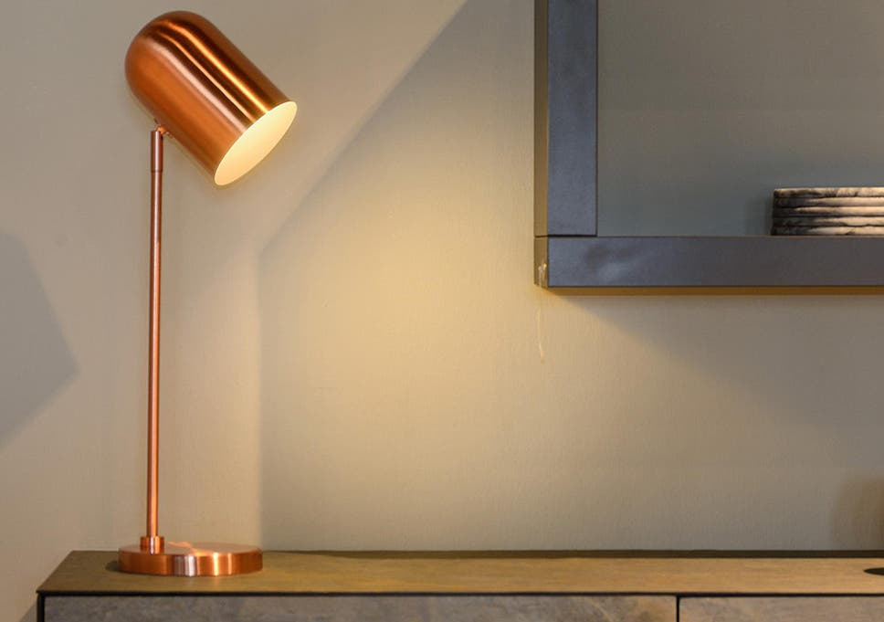 A statement lamp can transform your interior design with just the flick of a switch