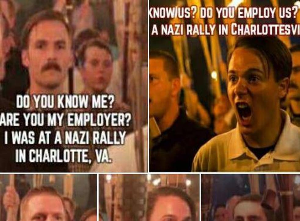 Gregg Davis, a Missouri resident, shared a Facebook post asking people to identify demonstrators at the far-right rally