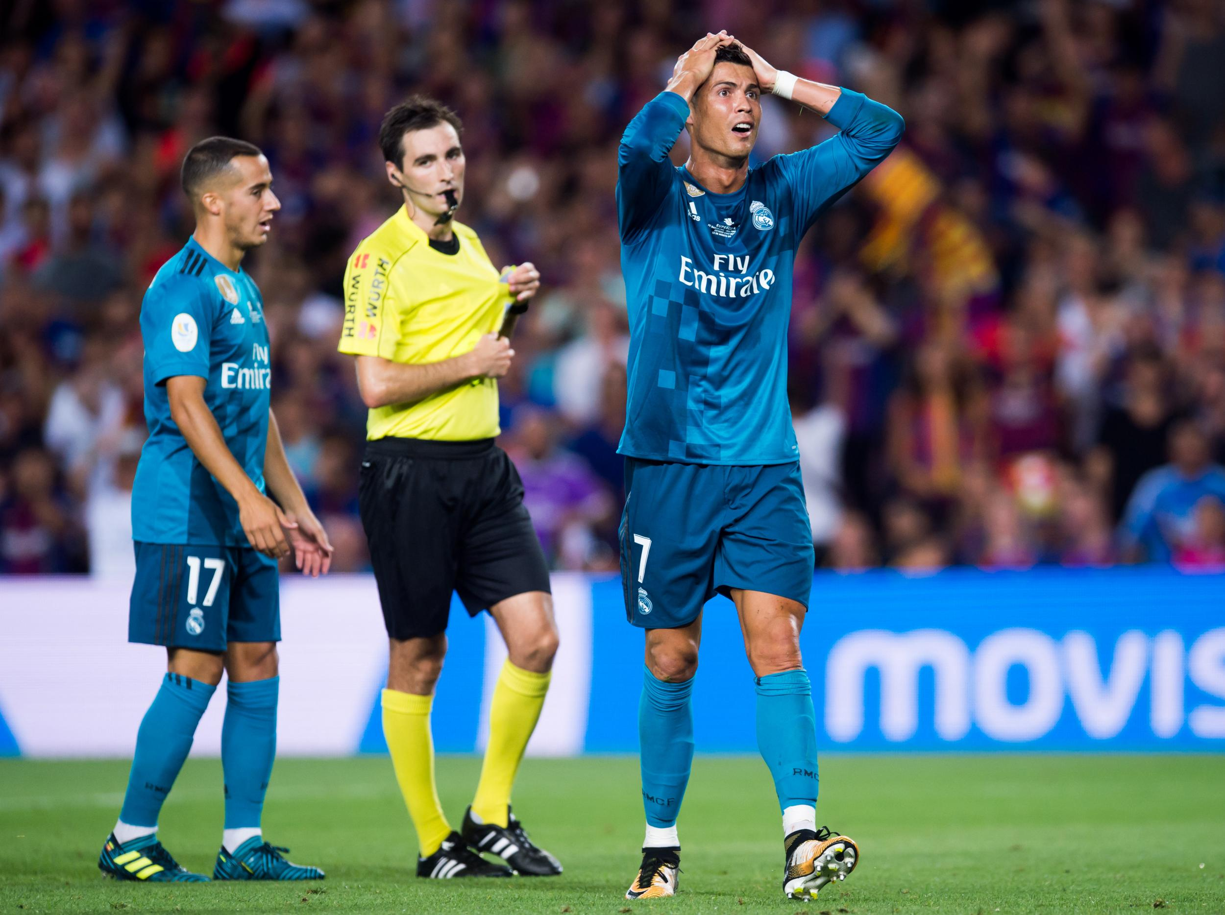 brand new c8ef5 1215f Cristiano Ronaldo banned for five matches after red card ...