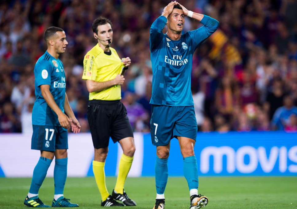 brand new 53aa6 95a3d Cristiano Ronaldo banned for five matches after red card ...